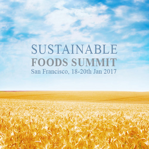 Sustainable food summit – San Francisco 2017