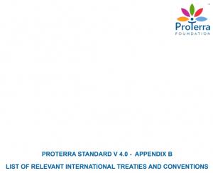 PROTERRA STANDARD V 4.0 - APPENDIX B