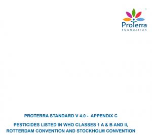 PROTERRA STANDARD V 4.0 - APPENDIX C