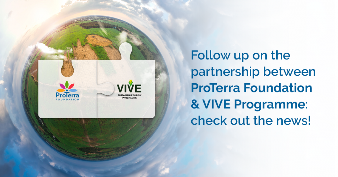 Follow up on the partnership between ProTerra Foundation & VIVE Programme: check out the news!