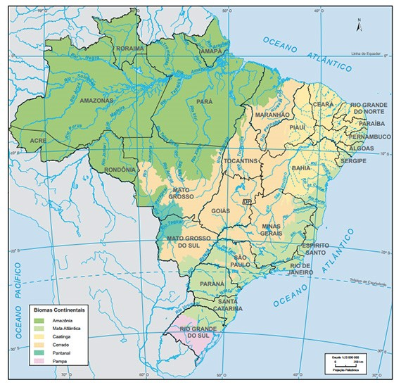Introduction This brief paper aims at increasing general understanding about soy production in Brazil and discussing how sustainable production, such as the one fostered by ProTerra Foundation, can be implemented and maintain in such reality. In the last 50 years, world soybean production has multiplied by ten. By 2050, the Food and Agriculture Organization (FAO) predicts that production will almost double to 515 million tonnes. Soy in Brazil The advance of Brazilian soybean production can be divided into four phases. The 1st phase comprises the expansion of cultivation in the southern region during the 1960s and 1970s. The 2nd phase is associated to the expansion of soy in the Midwest during the 1980s and 1990s. During phase 3, the first decade of the 21st century, soy expands to the north and northeast regions (mainly in the states of Maranhão, Tocantins Piauí and Bahia), areas where the Cerrado biome is present. More recently, other states in the northern region, these inserted in the Amazon biome (States of Pará, Rondônia, Roraima and Amazonas), are considered as the potential to further leverage national production, constituting what could be considered the 4th phase of soy development in Brasil . Figure 1 brings a map of Brazil, with all the states of the federation and the respective biomes where they are inserted. The green colour represents the Amazonia biome, while the peach the Cerrado. Light green is the Mata Atlântica, pink the Pampa, yellow Caatinga and green-blue the Pantanal. Figure 1 - Biomes of Brazil Soybean production in Brazil in 2016/17 was of approximately 113.0 million tons. Production is led by the states of Mato Grosso, with 27.0% of national production; Paraná with 17.3%; Rio Grande do Sul with 16.1%; Goiás, 9.6%; Mato Grosso do Sul, 7.6%, Minas Gerais, 4.4% and Bahia, 4.3%. Production in areas in Maranhão, Tocantins, Pará, Rondônia, Piauí and Bahia, in 2016/17 accounted for 13.2% of Brazilian production. Currently, as per data from EMBRAPA (Empresa Brasileira de Pesquisa Agropecuária - Brazilian Agricultural Research Corporation), the soy cultivation occupied an area of approximately 35 million hectares in 2018 (more than 3 times the size of continental Europe). Approximately 70% of all the soy exported from Brazil was bound to China in 2018. Based on a paper presented during the 48o Congress of the Brazilian Society of Rural Economy, Administration and Sociology (SOBER - Sociedade Brasileira de Ecomonia Administração e Sociologia Rural), economies of scale are present in soybean production in Brazil. The study points out that the average size of a soy farm in Brazil is of 72,45ha (in the south of the country the size is in average 34,92 ha while in the Midwest the size is in average of 501.05 ha). So, one can derive that they are in general big agricultural properties with large scale/industrial agriculture. The demand for soy is huge and growing. At the same time, the need to preserve the environmental resource and high conservation value areas emerges as a relevant aspect associated to agricultural production. How can these two apparently opposing needs walk hand in hand? This is only possible to be achieved through a global network of businesses supporting more sustainable agricultural practices, in the food and feed supply chains and via business implementing, and maintaining over time, sustainable approach to their activities. At the same time, the market is to give a clear message that sustainable products are a must and players are willing to pay for these products. The information and monitoring infrastructure needed must embody a common platform that supports biodiversity conservation and endorses restrictions to land use change for agricultural activities. Another important aspect is supporting the use of non-genetically modified (Non-GMO) seeds, and the full respect of workers and communities' rights and dignity. The challenge In recent years, activists and environmental agencies have suggested that the main cause of deforestation in the Cerrado is the expansion of agribusiness over native vegetation . Between 2007 and 2014, 26% of agricultural expansion occurred directly over Cerrado vegetation, says a statement from the Worldwide Fund for Nature (WWF). The recent episodes of fire in the Amazon forest in Brazil have put light on this discussion. Based on the publication of the Brazilian Ministry of Agriculture, Livestock and Supply (Ministério da Agricultura, Pecuária e Abastecimento), the soybean area is expected to increase reaching in 2027 to 43.2 million hectares. The document points out that soybeans are expected to expand through a combination of border expansion in regions where land is still available, occupation of pasture areas and the replacement of crops where land is not available to be incorporated. But the tendency in Brazil is for expansion to occur mainly over natural pasture lands, as indicated in the referred publication. Exports of soybeans in the country are projected for 2026/27 as of 84.0 million tons (expected variation in 2026/27 compared to 2016/17 of 33.5%). So, soy production in Brazil will grow and new areas will be incorporated to soy. With this scenario a vigilant society is necessary, and the market should push for the implementation of sustainable agricultural practice that clearly poses restrictions to land use change especially the clearing of areas with high conservation values, such as de Cerrado and Amazon biomes in Brazil. As pointed out earlier in this document, studies indicate that in general big agricultural properties with large scale/industrial agriculture are associated with soy production in Brazil, representing business organizations with management and institutional capacity to deal with the challenges of sustainability should they be a business requirement. Market mechanism can have a leading role in the preservation of natural resources, even more relevant than local policies or regulations. On the issue of Brazilian soy, not buying it, for example, will not necessarily impede deforestation as soy production is expected to grow in the country once market demand exists. Committing in sourcing soy responsibly and insisting and investing in the construction of commercial relations with Brazilian soy producers, industrial processors and trading companies, while pushing sustainability criteria down the soy supply chain, and paying premium values, is possibly the most effective way to support the reduction of deforestation in the country. The ProTerra Foundation owns the ProTerra Certification Standard, a voluntary initiative that has a set of indicators associated to suitability topics. ProTerra Certification Standard offers a platform over which to build commercial relation towards suitability. ProTerra indicators are the basis to help organizations develop, maintain and improve over time their sustainable production practices. Indicators are in several cases aligned with the Sustainable Development Goals (SDGs) of the United Nations what makes them even more relevant. ProTerra Principle 4 - Biodiversity conservation, effective environmental management and environmental services - poses restrictions to land use change. This principle excludes from ProTerra certification scheme products originated in areas that have been cleared of native vegetation for agriculture after 2008 with specific reference to areas defined by High Conservation Values Resource Network (indicator 4.1.1). Certification under ProTerra also requires that organizations must identify and maintain valuable biodiversity within their areas and must restore areas of natural vegetation around bodies of water and on steep slopes and hills, and other sensitive parts of the ecosystem. Additionally, ProTerra Standards requires that a comprehensive Environmental and Social Impact Assessment (ESIA) must be developed for any large or high-risk expansion (such as expansion of soy in pasture lands), or new infrastructure projects to identify potentially harmful or damaging impacts and to define a management plan to address these where necessary. External experts are to be involved. The ESIA must be commensurate to the scale of the operation and infrastructure. It must consider the sustainability of the environment, wildlife and endangered species, and the social impact on the local population including, where relevant, indigenous people and traditional land users. ProTerra certification also covers relevant sustainability topics such as: • Protection of the rights of communities, indigenous people, and smallholders; • Promotion of good labour practices such as workplace safety, equal opportunities, and attention to preventing child forced labour and aspects associated to modern slavery; • Promotion of good agricultural practices, particularly regarding soil fertility, water management and continuous efforts to reduce the use of fertilisers and pesticides; • Provides a list of banned pesticides (pesticides that may not be used should one seek ProTerra certification); • Promotion of continuous improvement on sustainability matters; • Protection of seed biodiversity, particularly through rigorous Non-GMO requirements, and • Traceability and Chain of Custody. Traceability enables the market to have a full view over a product's journey, making it possible to identify if and where the product has been sourced. ProTerra audits are done by qualified independent professionals (third party audits), linked to a certification body that is duly accredited by international organizations. The ProTerra Foundation's mission is to be a global network of businesses supporting more sustainable agricultural practices, in the food and feed supply chains, where relevant the conversion to non-GMOs and full respect of workers and communities' dignity. We envisage a world where all businesses contribute to the protection of biodiversity by switching to sustainable production, conserve natural resources and ensure that local communities are treated with dignity and respect.